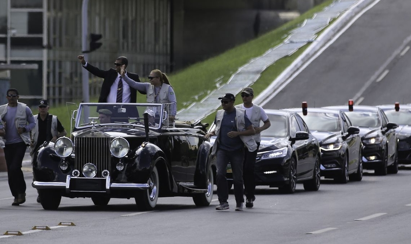 Equipe de segurança faz ensaio para posse do presidente eleito Jair Bolsonaro na Esplanada dos Ministérios. (Foto: Fabio Rodrigues Pozzebom/Agência Brasil)