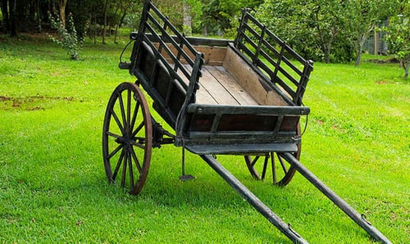 Carroça velha. (Foto: flickriver.com)