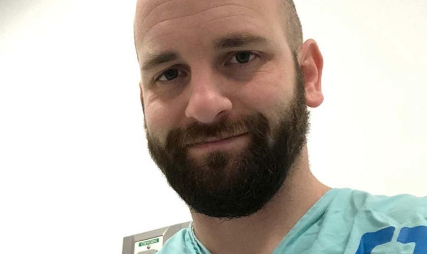Pastor Noah Schumacher em fase de exames na Clínica de Cleveland, em Ohio, nos EUA. (Foto: Arquivo pessoal)