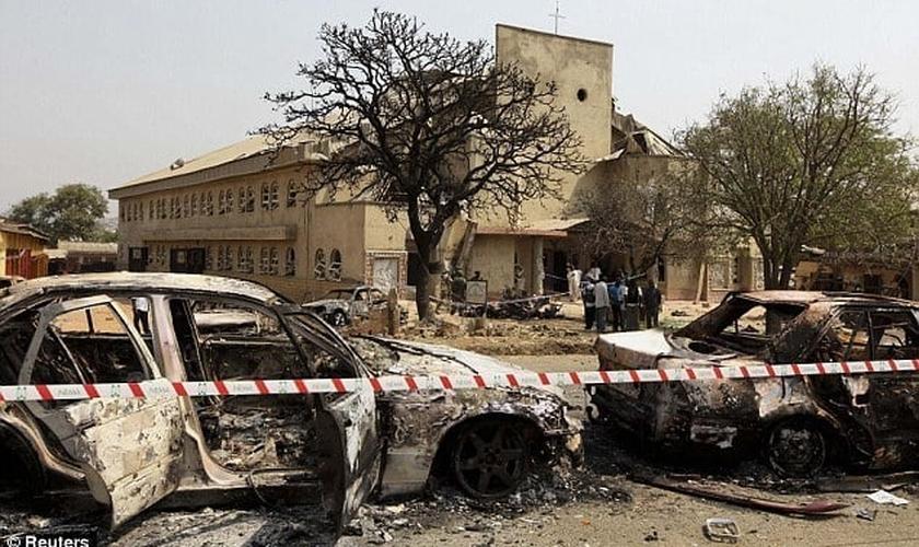 Igrejas pedem ao governo da Nigéria que apoie congregações atacadas pelo Boko Haram. (Foto: Premium Times Nigeria)