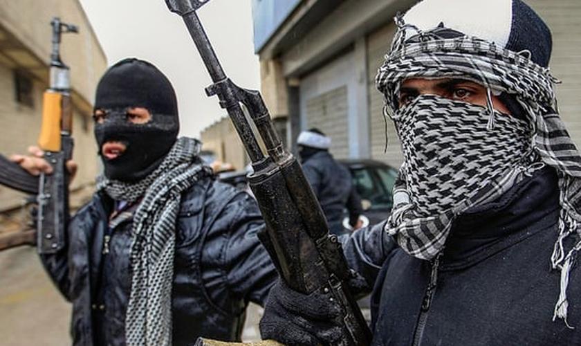Terroristas em Aleppo, Síria. (Foto: Freedom House / CC-BY-2.0)