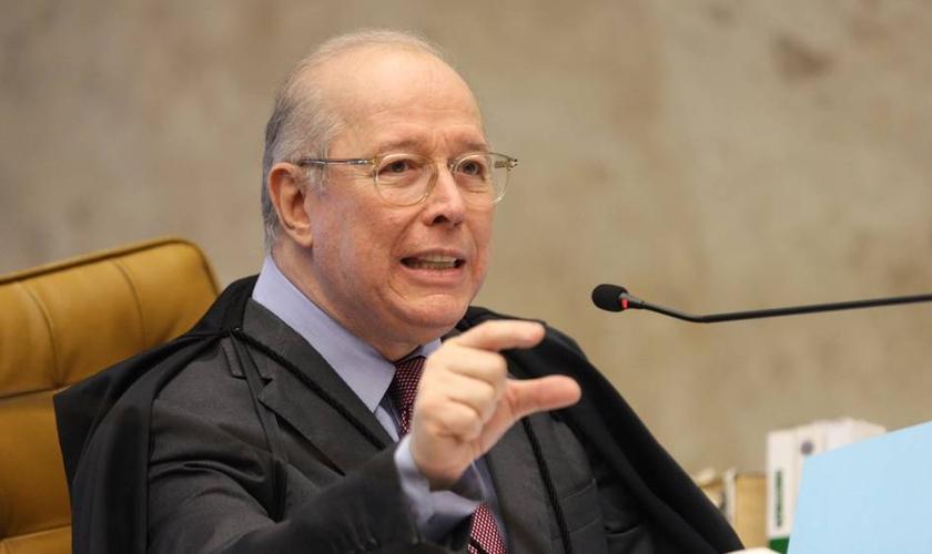 Celso de Mello é ministro do STF e relator do caso que visa a criminalização da homofobia pelo Supremo. (Foto: NELSON JR./SCO/STF)