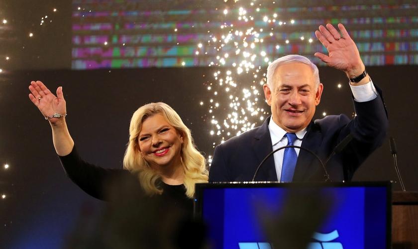 Crescem as possibilidades de reeleição de Netanyahu como primeiro-ministro de Israel. (Foto: Ammar Awad/Reuters)