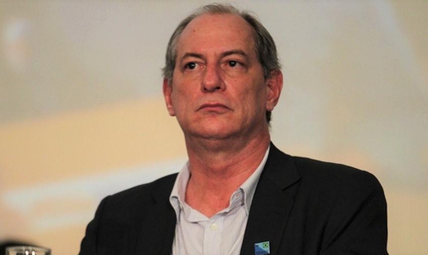 Ciro Gomes será processado por antissemitismo pela Confederação Israelita do Brasil - Conib. (Foto: O Globo)