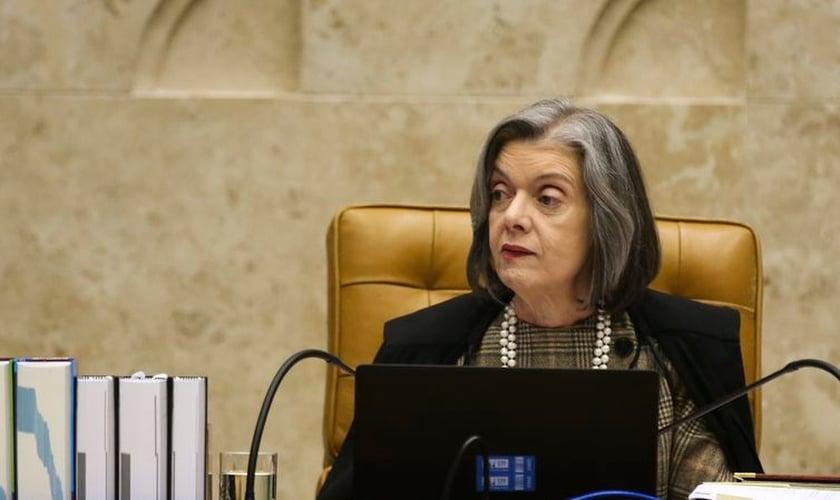 Ministra Cármen Lúcia, do Supremo Tribunal Federal (STF). (Foto: Antonio Cruz/Agência Brasil)