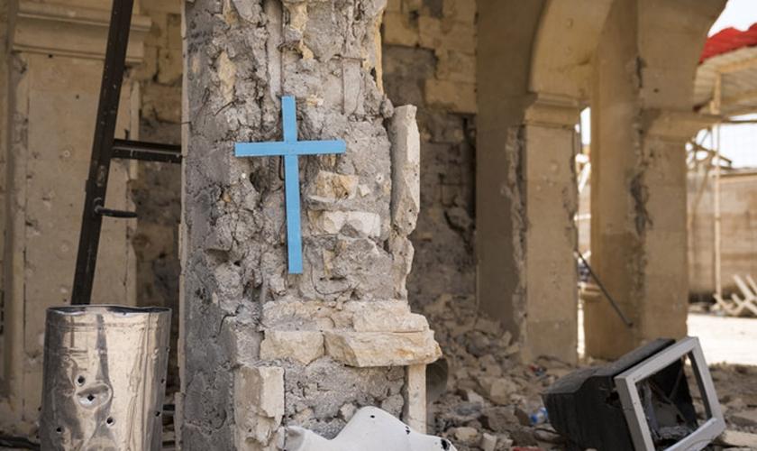 Relatório diz que 80% dos religiosos perseguidos pelo mundo são cristãos. (Foto: Reprodução/Church Leaders)