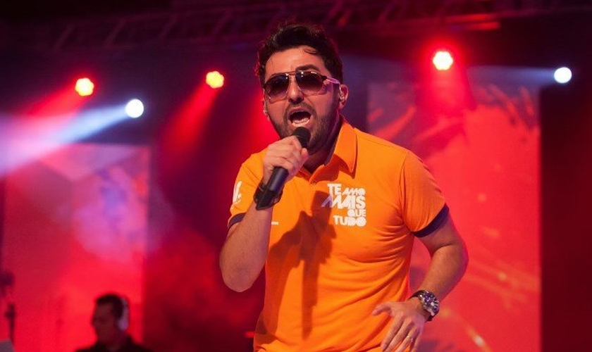 Jonas Vilar é uma das atrações já confirmadas para a Expoevangélica 2019, em Fortaleza. (Imagem: Youtube / Reprodução)