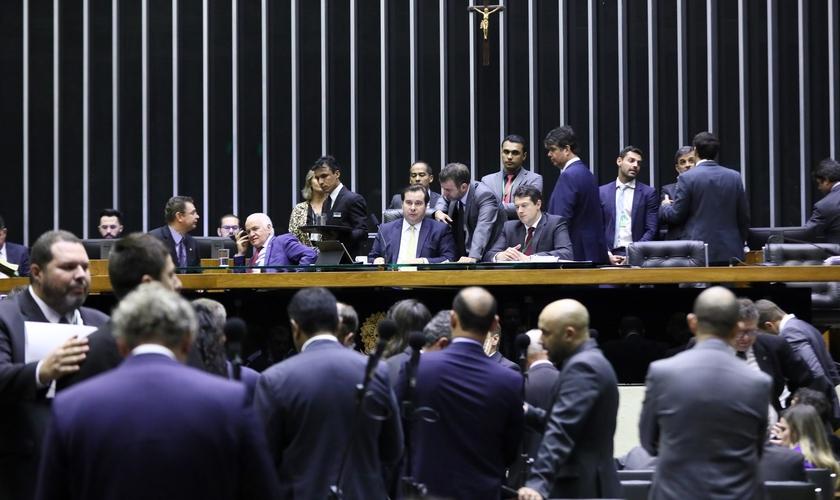 Plenário aprovou alterações na lei que regulamenta prazo adicional de isenções fiscais. (Foto: Luis Macedo/Câmara dos Deputados)