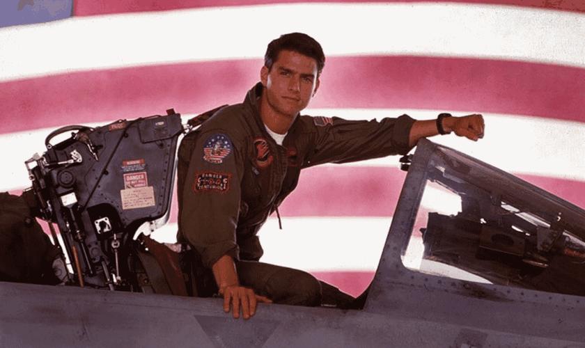 Estrelado por Tom Cruise, Top Gun foi um sucesso internacional nos cinemas, ao final dos anos 80. (Imagem: CBS News)