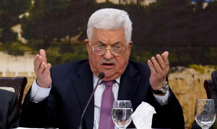 Mahmoud Abbas é o líder maior da Autoridade Palestina. (Foto: Reuters)