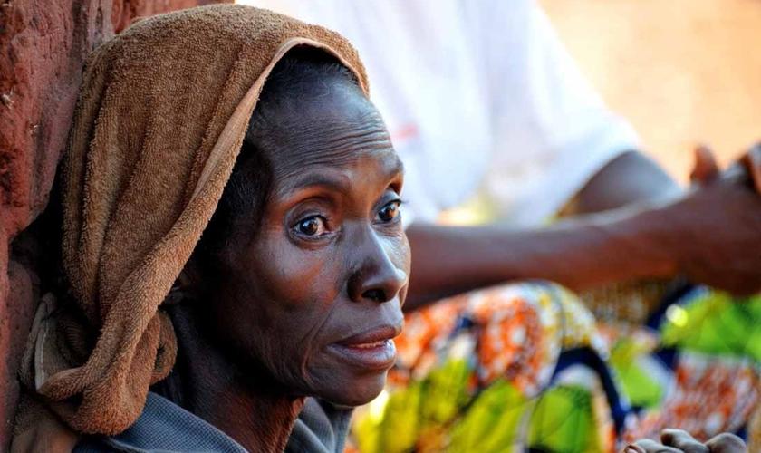 Apesar de serem maioria na República Centro-Africana, cristãos estão sofrendo com a violência por parte de grupos terroristas formados por extremistas muçulmanos. (Foto: Portas Abertas - EUA)