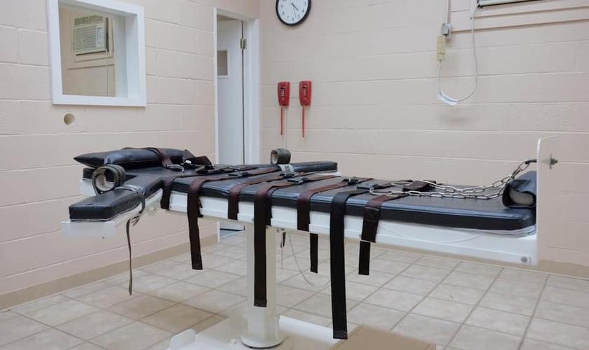 Maca onde condenados à morte são executados, na Penitenciária do Estado de Louisiana. (Foto: Ravi Zacharias)