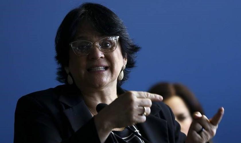 Damares Alves é ministra da Mulher, da Família e dos Direitos Humanos no governo Bolsonaro. (Foto: Marcelo Camargo - Agência Brasil)