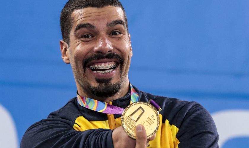 Com 31 medalhas em jogos Parapan-americanos, Daniel Dias é o maior medalhista absoluto do evento. (Foto: Ale Cabral - CPB)