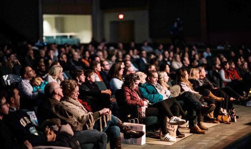Participantes da conferência Evangelicals for Life 2019 na McLean Bible Church, nos Estados Unidos. (Foto: ERLC)
