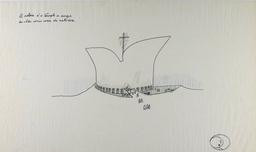 Esboço do projeto para o Museu da Bíblia de Brasília. (Foto: Divulgação/Governo de Brasília)