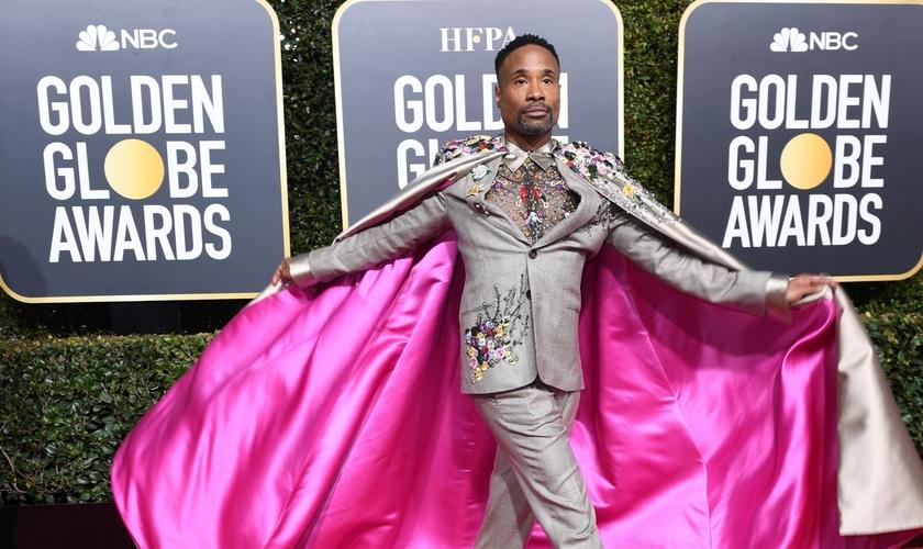 Billy Porter é conhecido pelo modo extravagante de se vestir. (Foto: Newsweek)