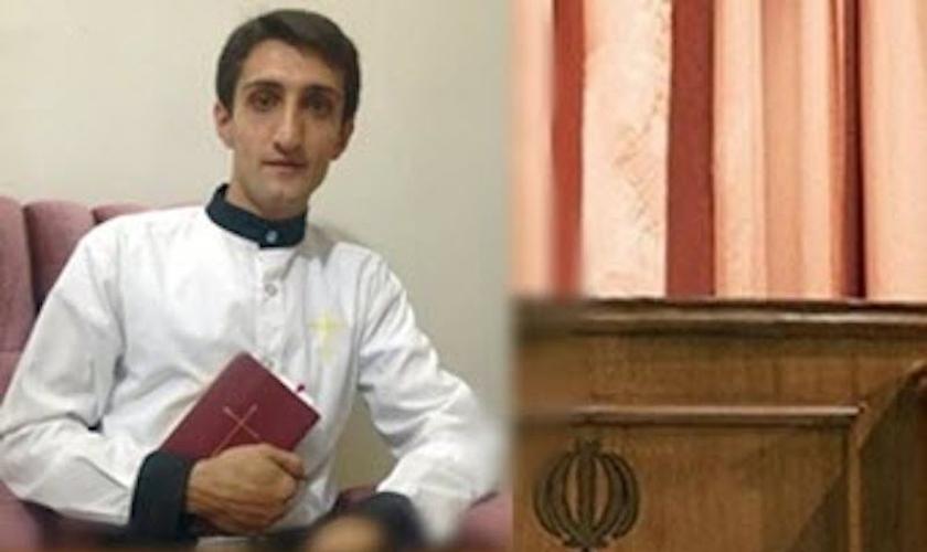 Ebrahim Firouzi preso no Irã por se tornar cristão. (Foto: Reprodução/ BosNewsLife)