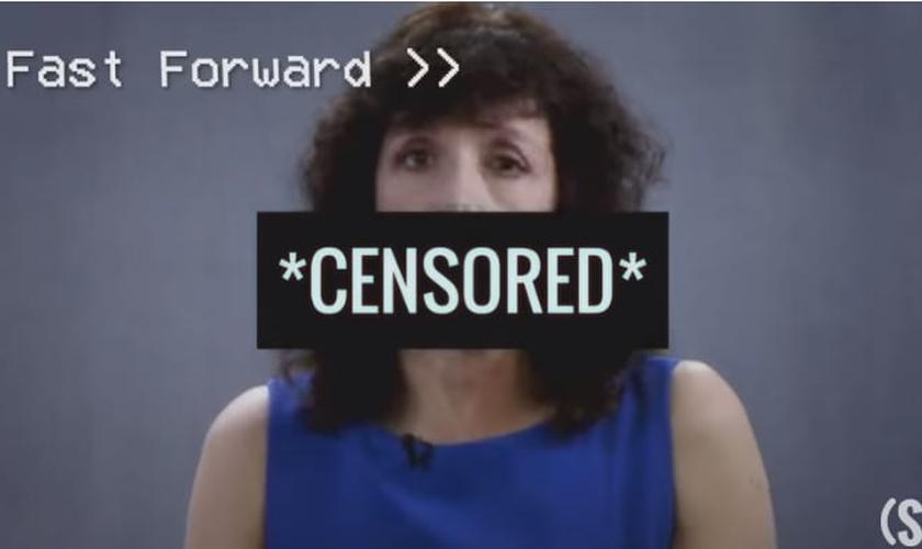O vídeo de Michelle Cretella foi censurado pelo YouTube. (Imagem: DailySignal)