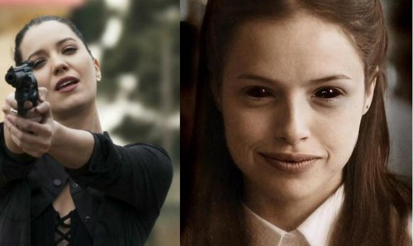 """Personagem Fabiana (esquerda) e Josiane (direita) terminaram a novela """"A Dona do Pedaço"""", da rede Globo, como criminosas, apesar de ter """"se convertido ao cristianismo"""". (Imagem: Globo Play)"""