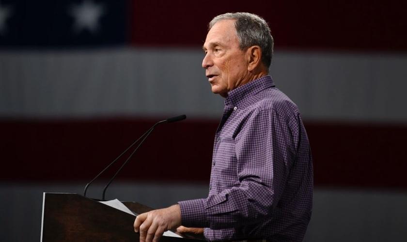 Michael Bloomberg é um bilionário que está se candidatando à presidência dos EUA. (Foto: Getty Images/Stephen Maturen/Stringer)