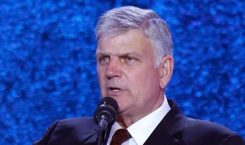 Franklin Graham é filho do falecido evangelista Billy Graham e realiza cruzadas evangelísticas por todo o mundo. (Foto: CBN News)