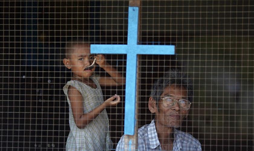 A etnia Rohingya é de maioria muçulmana e aqueles que decidem se tornar cristãos sofrem perseguição. (Foto: Asia News)