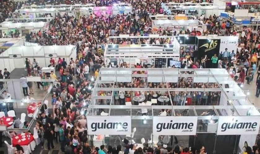 A Expoevangélica reúne dezenas de milhares