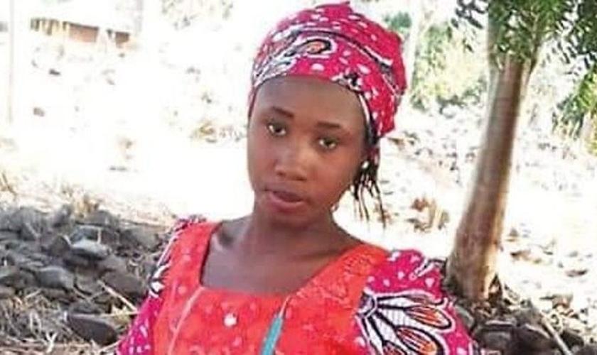Leah Sharibu está há dois anos em cativeiro do Boko Haram. (Foto: Vanguard News)