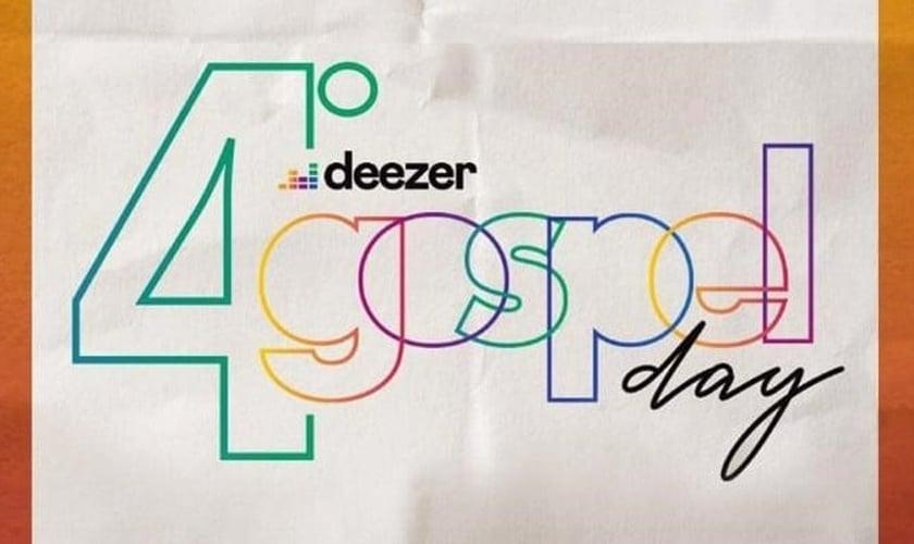 O Deezr Gospel Day chega à sua quarta edição. (Imagem: Divulgação