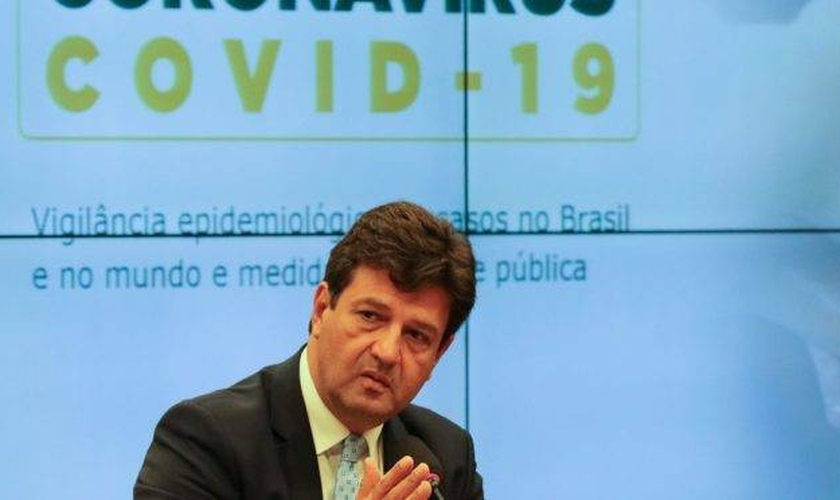 Ministro da Saúde, Luiz Henrique Mandetta afirmou que o Brasil ainda pode ter altas nos índices de novos casos de coronavírus. (Foto: Fabio Rodrigues Pozzebom / Agência Brasil)