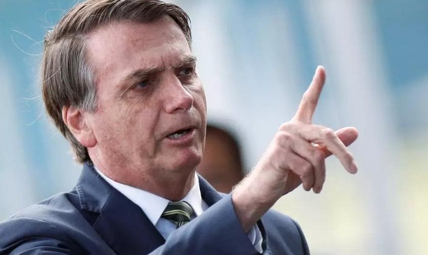 Jair Bolsonaro tem se mostrado um apoiador do movimento pró-vida no Brasil. (Foto: REUTERS/Adriano Machado)