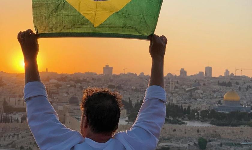 A Casa de Oração de Jerusalém para Todas as Nações reúne para oração em encontro online. (Foto: Ministério Engel)