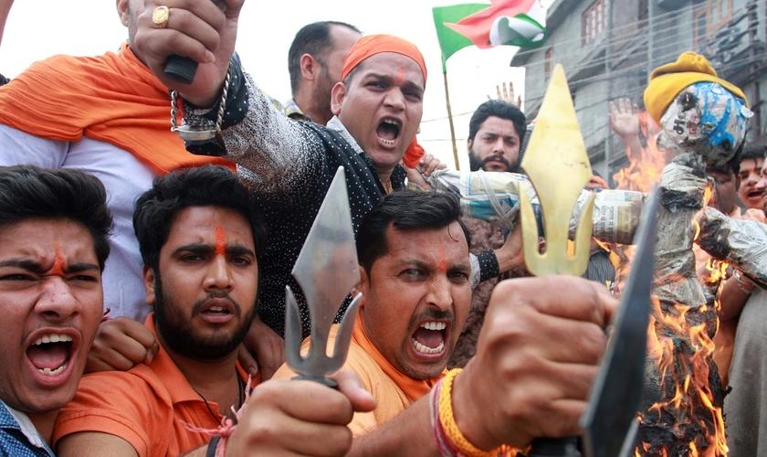 Cristãos são frequentemente vítimas do extremismo animista e hindu na Índia. (Foto: Getty Images)