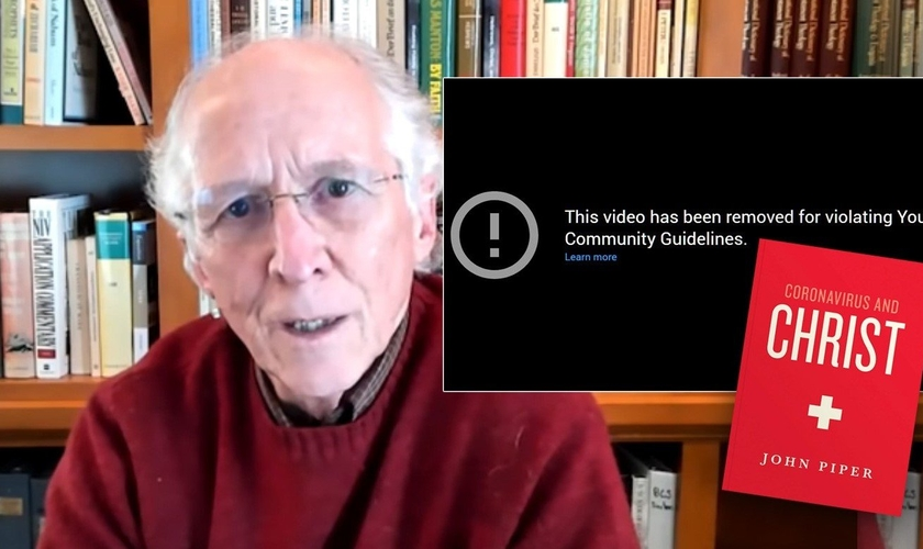 "John Piper teve o áudiolivro de seu novo livro ""Coronavirus and Christ"" removido do YouTube. (Foto: Caldroon Pool)"