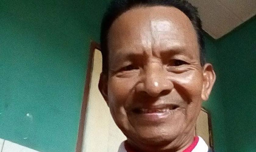 O pastor Davi Felix Cecílio é servidor da Coordenação Regional do Alto Solimões da Funai. (Foto: Arquivo pessoal)