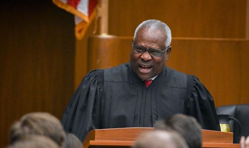 Clarence Thomas é juiz associado da Suprema Corte dos EUA desde 1991. (Foto: CNN)