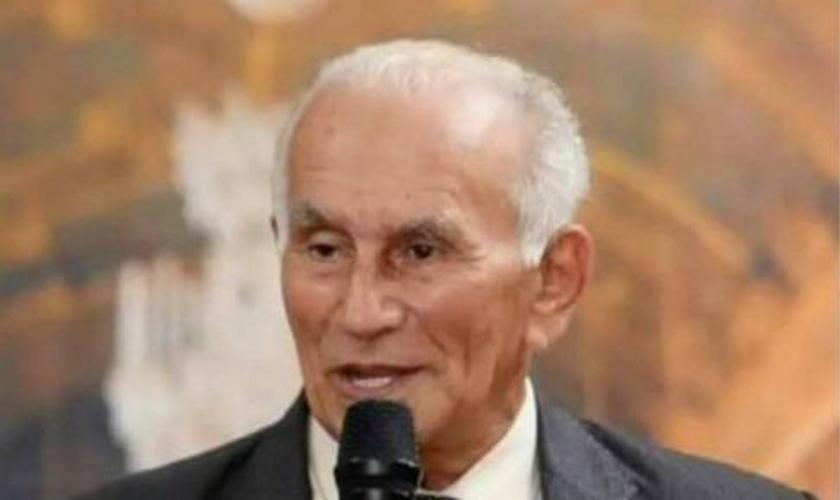 Pastor José Geraldo morreu de Covid-19 em Várzea Grande. (Foto: Facebook/Reprodução)