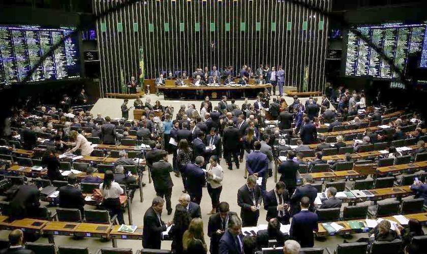Plenário da Câmara dos Deputados, em Brasília. (Foto: Pedro Ladeira/Folhapress)