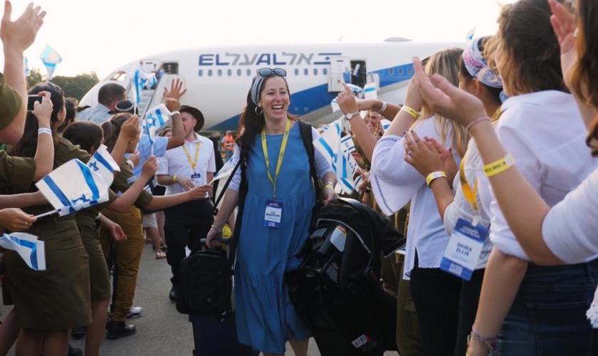 Cristãos ajudam judeus a voltar para Israel em meio à pandemia. (Foto: International Christian Embassy Jerusalem)