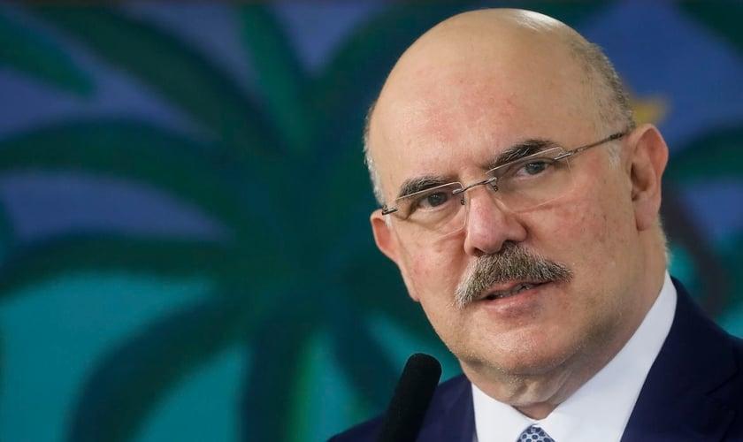 A PGR pediu ao STF abertura de inquérito contra o ministro da Educação, Milton Ribeiro. (Foto: Isaac Nóbrega/PR)