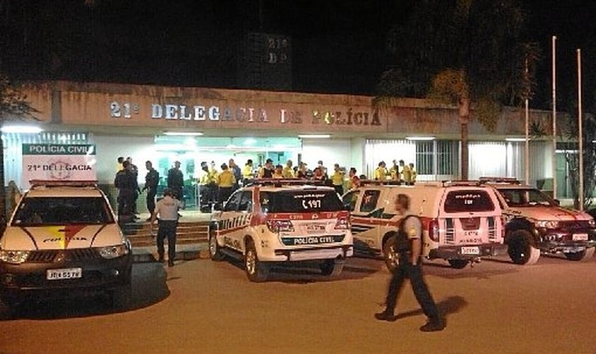 Pastor ministrava o culto no momento do assassinato, em Águas Claras. (Foto: Polícia Civil/Divulgação)