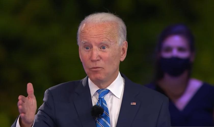 Candidato democrata nas eleições presidenciais dos EUA em 2020, Joe Biden prometeu que o aborto sob demanda e em qualquer estágio da gestação se tornará uma lei do país, caso ele seja eleito. (Imagem: NBC)