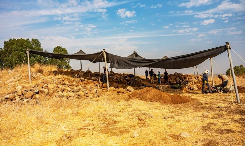 Escavações na área de Hispin têm levado a novas descobertas em Israel. (Fotos: Yaniv Berman  / Autoridae de Antiguidades de Israel)