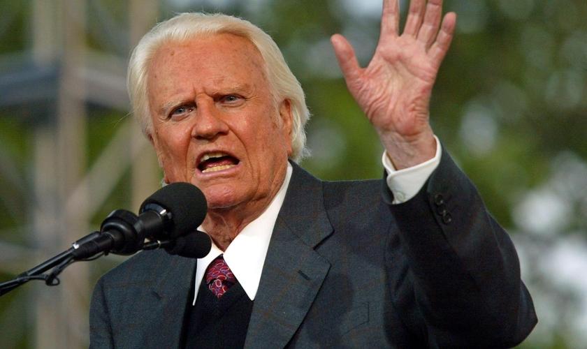 Falecido em fevereiro de 2018, Billy Graham foi um dos maiores evangelistas das últimas décadas e seu legado permanece firme por meio da associação evangelística presidida por seu filho, Franklin Graham. (Foto: Associação Evangelística Billy Graham)