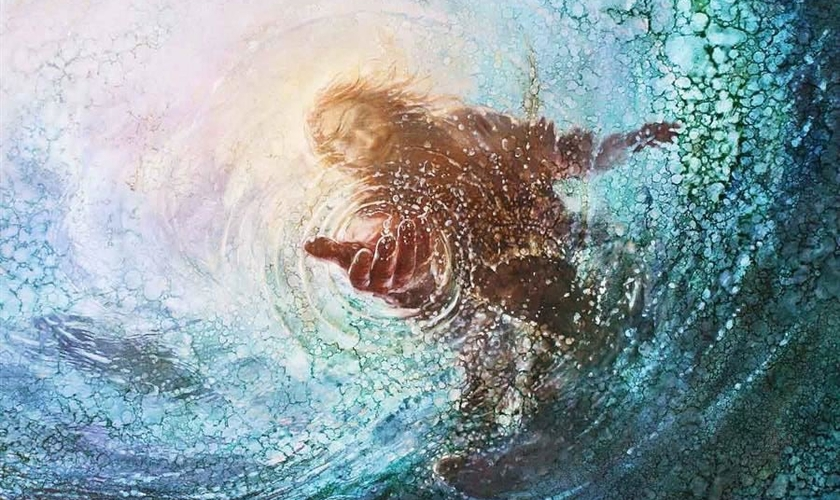 Imagem ilustrativa. Hand of God (Mão de Deus), obra artística de Yongsung Kim. (Foto: Foundation Arts)