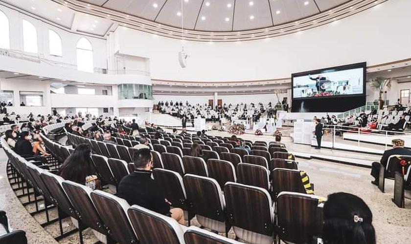Será analisado o decreto do governador João Dória (PSDB) que classifica as igrejas como serviços essenciais e permitem seu funcionamento. (Foto: Facebook/AD Belém SP).