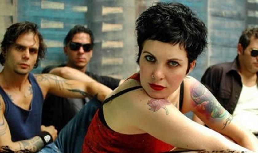 Meg Stock, do Luxúria, era uma das musas do rock alternativo nos anos 2000. (Foto: Reprodução/Instagram
