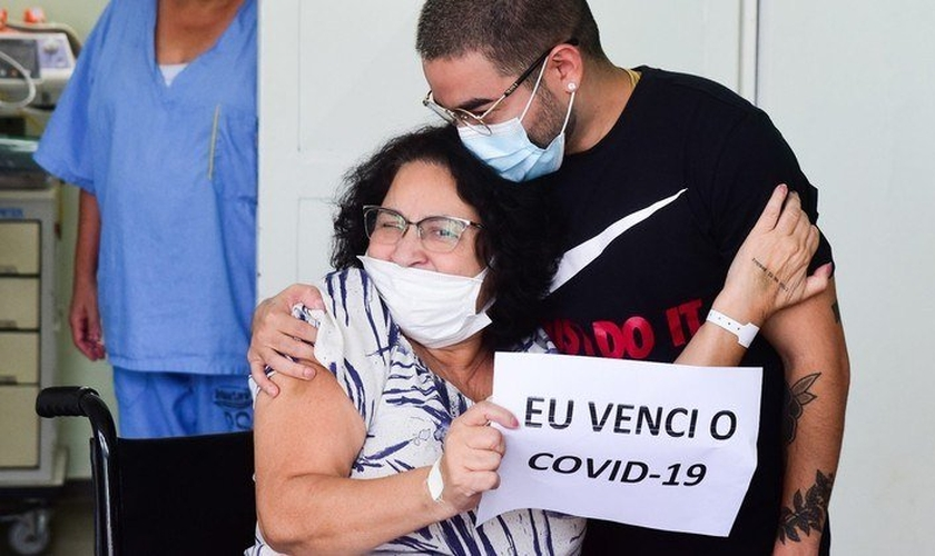 Tashimiro recebeu alta do Hospital Polinorte de Osasco (SP) neste domingo (28). (Foto: Leo FrancoAGNEWS).
