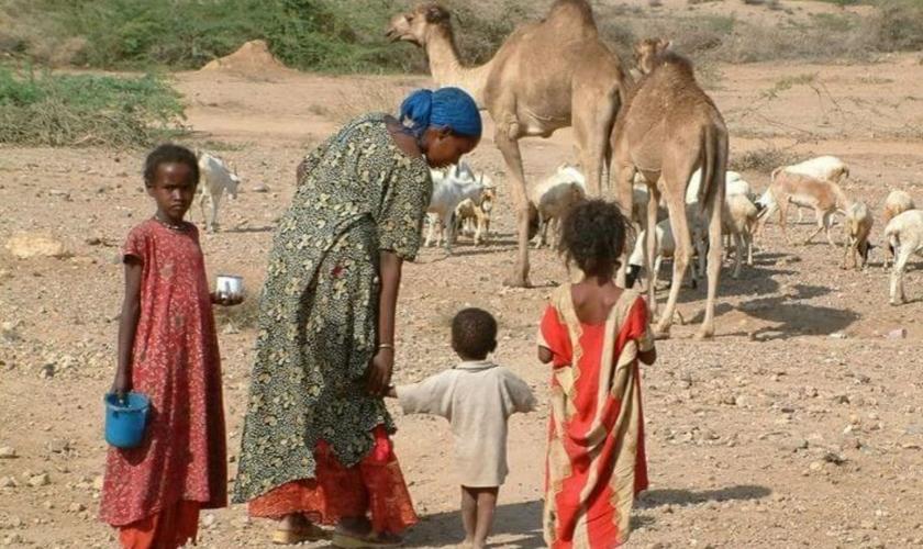Cristãos somalis enfrentam o preconceito de extremistas islâmicos. (Foto: Portas Abertas)
